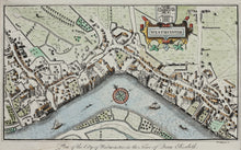 Load image into Gallery viewer, Westminster - Antique Map by Woodthorpe 1813