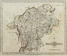 Load image into Gallery viewer, Westmoreland - Antique Map by J Cary 1793