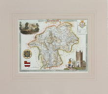 Load image into Gallery viewer, Westmoreland - Antique Map by Thomas Moule circa 1848