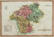 Load image into Gallery viewer, Westmoreland - Antique Map by J Wallis circa 1814