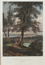 Load image into Gallery viewer, Windsor from the Forest - Antique Copper Engraving circa 1804