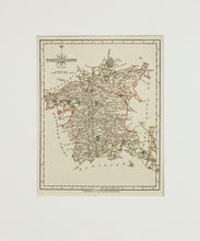 Load image into Gallery viewer, Worcestershire - Antique Map by J Cary 1787