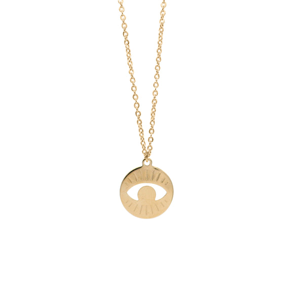 Collier Ash - Gold - Argelouse