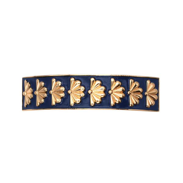 Barrette Amok Eventail - Bleu - Barrettes - Argelouse