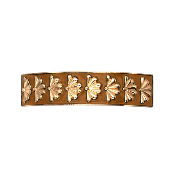Barrette Amok Eventail - Camel - Barrettes - Argelouse