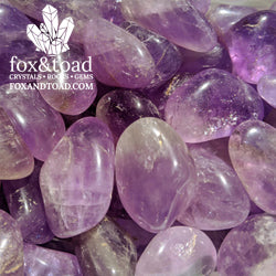 A photo of Brazilian Amethyst Tumbled Stones