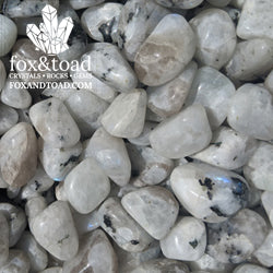 A photo of Rainbow Moonstone Tumbled Stones