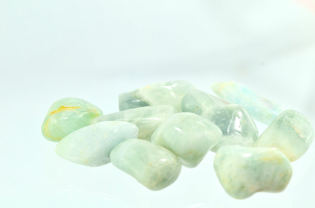 Aquamarine Tumbled Stones