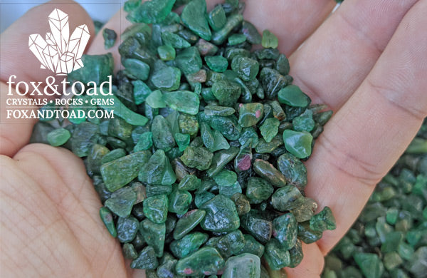 Emerald Gemstone Chips