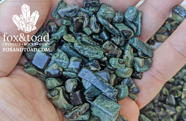 Jasper, Kambaba Gemstone Chips