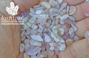 Morganite Gemstone Chips