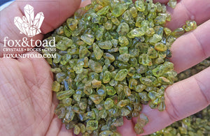 Peridot Gemstone Chips
