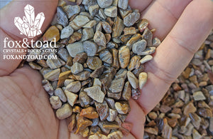 Petrified Wood Gemstone Chips
