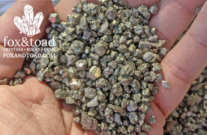 Pyrite (Larger) Gemstone Chips