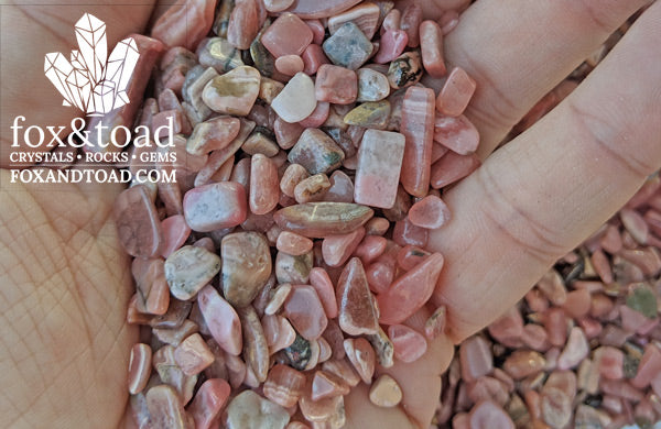 Rhodochrosite Gemstone Chips