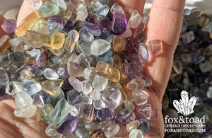 Fluorite Gemstone Chips