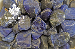 Sodalite, Midnight Tumbled Stones