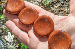 Goldstone, Red Worry Stone