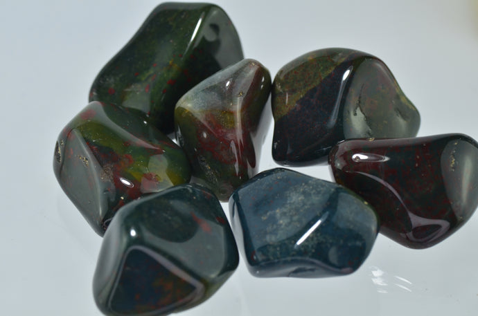 Bloodstone Tumbled Stones