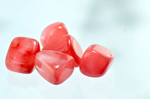 Quartz, Cherry Tumbled Stones