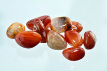 Agate, Fire (Heat Treated) Tumbled Stones
