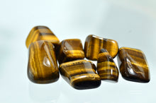 Tiger's Eye, Gold Tumbled Stones