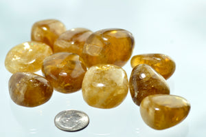 Calcite, Honey Tumbled Stones