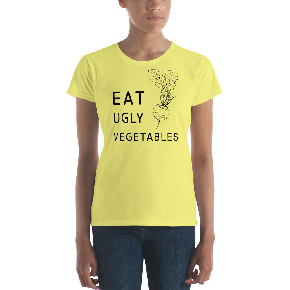 Eat Ugly Vegetables Ladies Tee