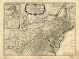 1776 Map of the British Middle Colonies