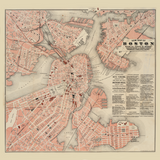 1883 Boston Map