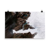 Jakobshavn Glacier, Greenland Satelllte Imagery