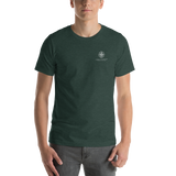 Cadillac Mountain Topographic Short-Sleeve Unisex T-Shirt