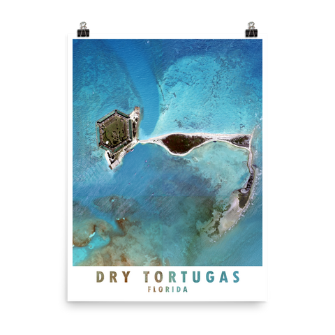 Dry Tortugas Satellite Imagery