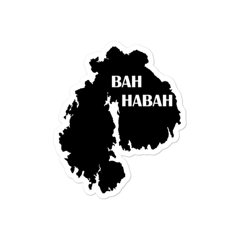 Bah Habah Sticker