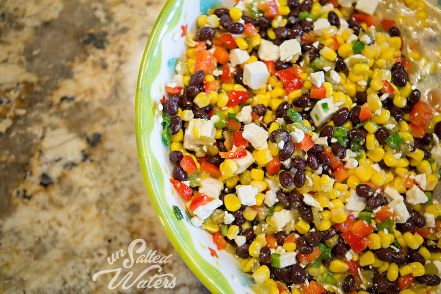 Lakeside Black Bean and Feta Dip