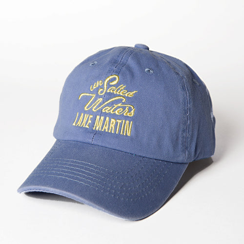Blue & Yellow Lake Martin Hat