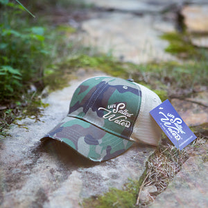 Fall 2018 UnSalted Waters Camo Trucker Hat