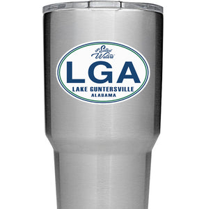 Lake Guntersville Alabama Decal LGA Sticker