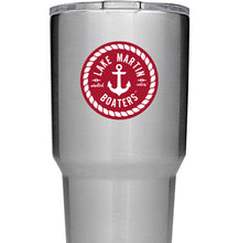 Lake Martin Boaters Anchor Decal