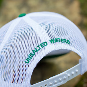 Port Of Lake Martin Trucker Hat Green