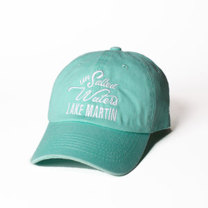 Mint Green Lake Martin Hat