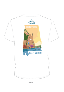 Chimney Rock Lake Martin T-Shirt