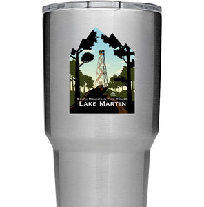 Smith Mountain Fire Tower Lake Martin Decal