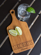 Lake Martin Alabama Small Bamboo Serving Board