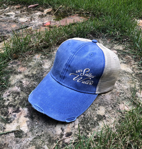 UnSalted Waters Blue Trucker Hat