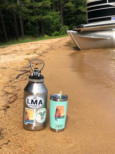 Lake Martin Alabama Decal LMA Sticker