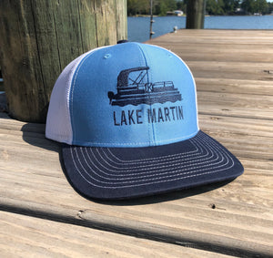 Lake Martin Pontoon Tritoon Trucker Hat