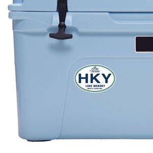 Lake Hickory Decal HKY Sticker Decal