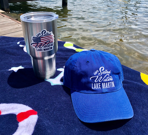 Royal Blue Lake Martin Hat