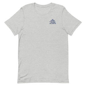 American Flag Lake Martin UnSalted Waters T-Shirt